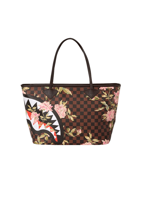 SPRAYGROUND borsa shopper shark flower