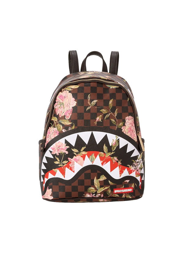 SPRAYGROUND zaino shark flower savage