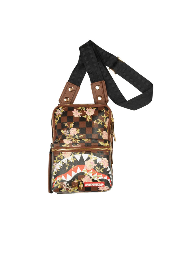 SPRAYGROUND borsa shark flower