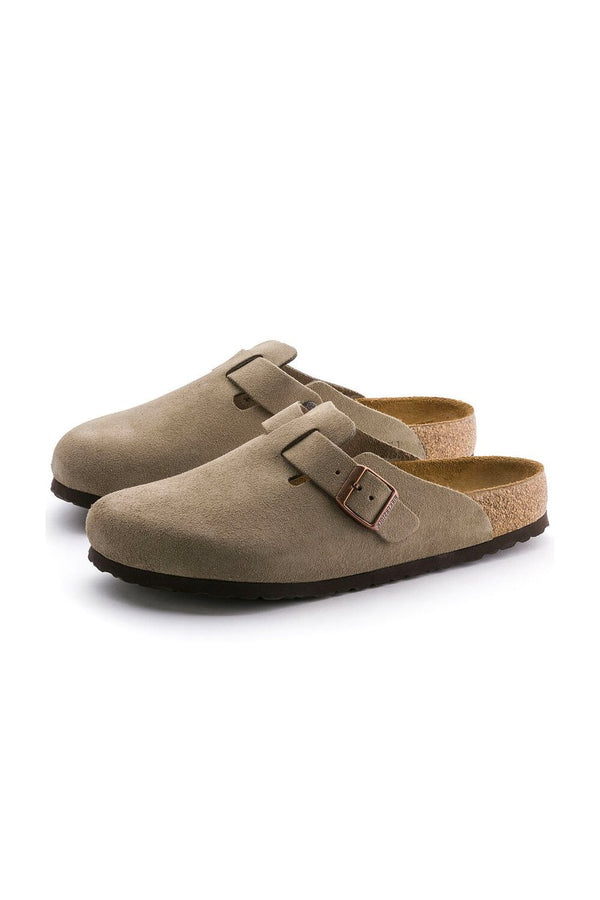 BIRKENSTOCK Sandali boston in suede