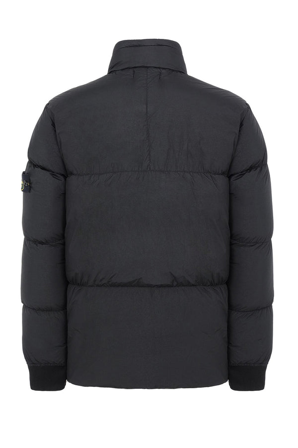 STONE ISLAND PIUMINO GARMENT DYED CRINKLE REPS NY DOWN