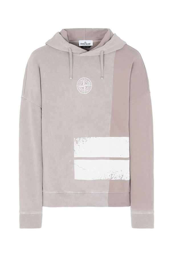 STONE ISLAND FELPA DUST TWO