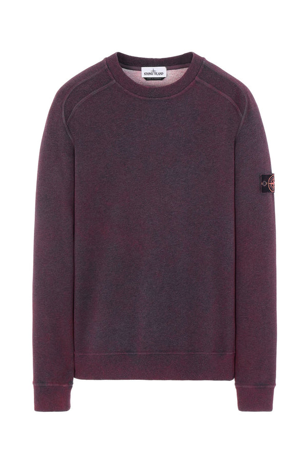 STONE ISLAND FELPA DUST COLOUR