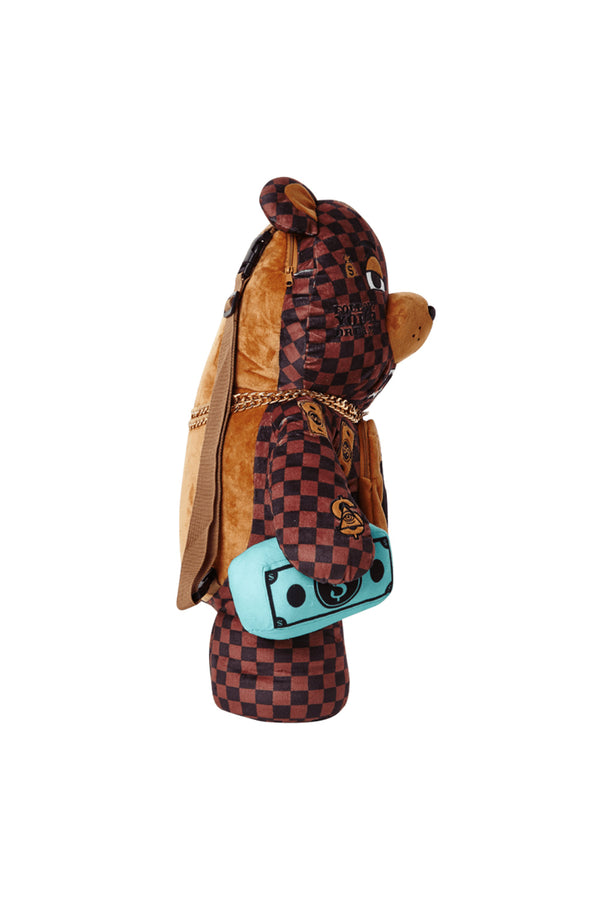 SPRAYGROUND ZAINO PARIS TEDDY BEAR