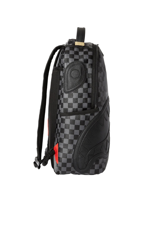 SPRAYGROUND zaino henney checkered sharkmouth