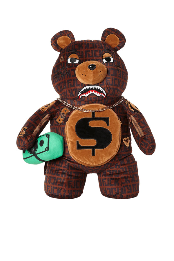 SPRAYGROUND zaino offender money bear