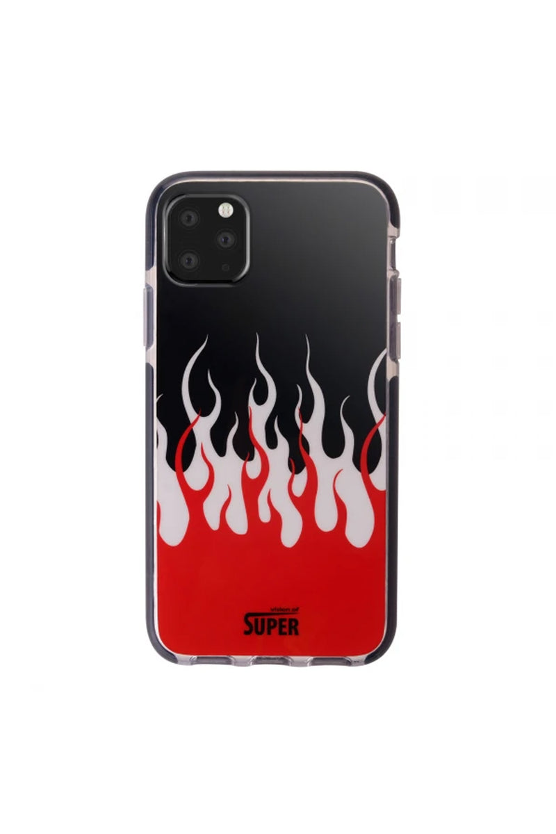 VISION OF SUPER CUSTODIA X IPHONE 11 PRO DOUBLE FLAMES