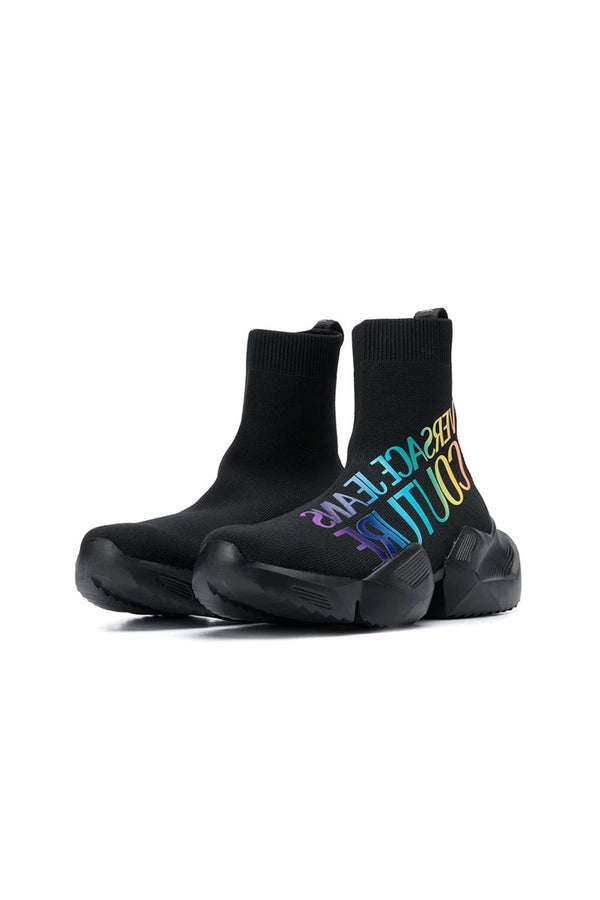 VERSACE JEANS COUTURE SNEAKERS ALTA CON LOGO