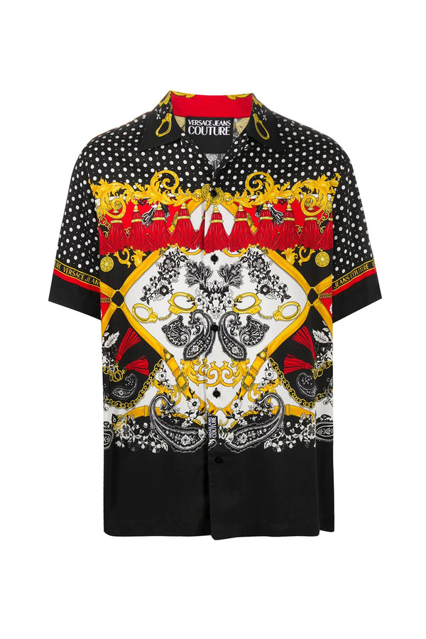 VERSACE JEANS COUTURE CAMICIA PAISLEY FANTASIA