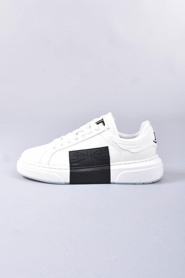 JOHN RICHMOND Sneakers bassa in pelle