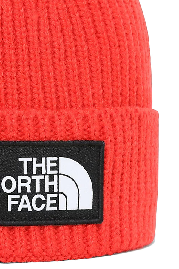 THE NORTH FACE BERRETTO CON RISVOLTO CON LOGO TNF