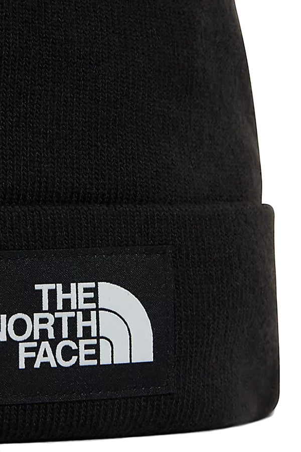 THE NORTH FACE BERRETTO DOCK WORKER CON RISVOLTO CON LOGO TNF