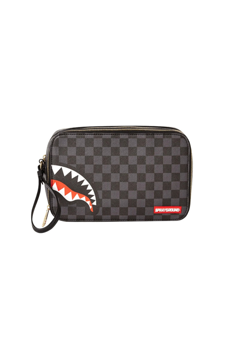 SPRAYGROUND SHARKS IN PARIS TOILETRY AKA MONEY BAGS