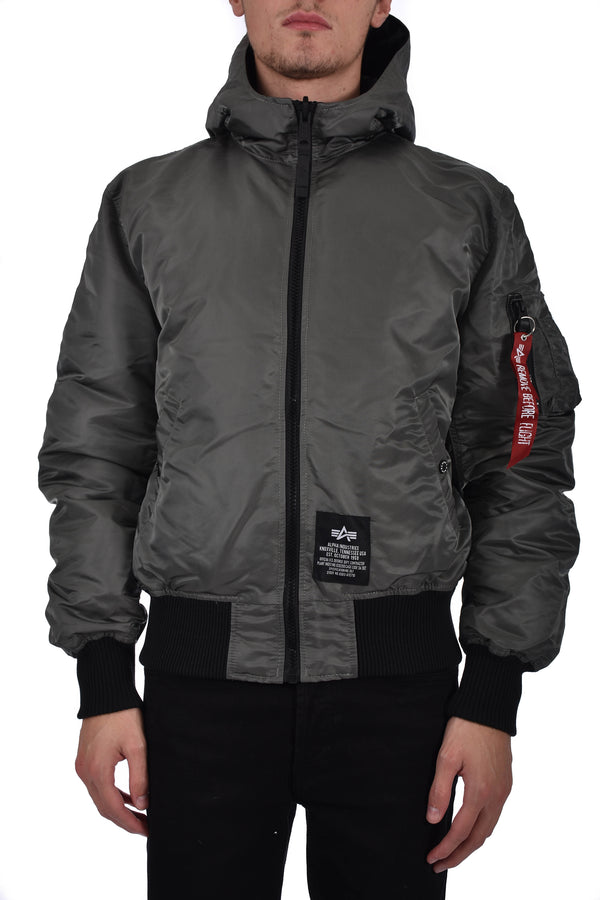 ALPHA INDUSTRIES PIUMINO CON CAPPUCCIO DOUBLE FACE