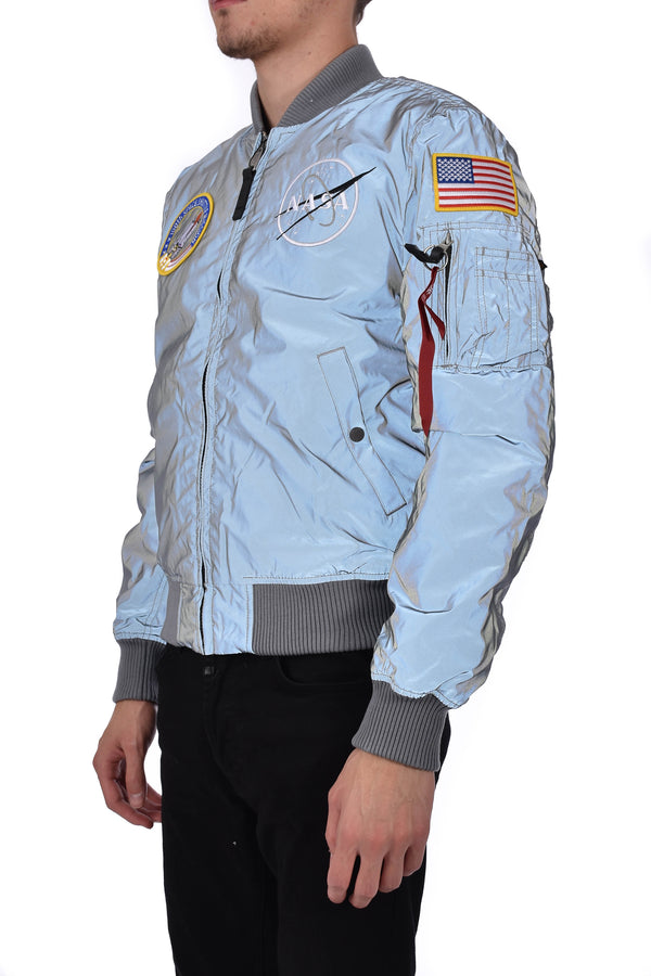 ALPHA INDUSTRIES BOMBER MA-1 VF NASA REFLECTIVE