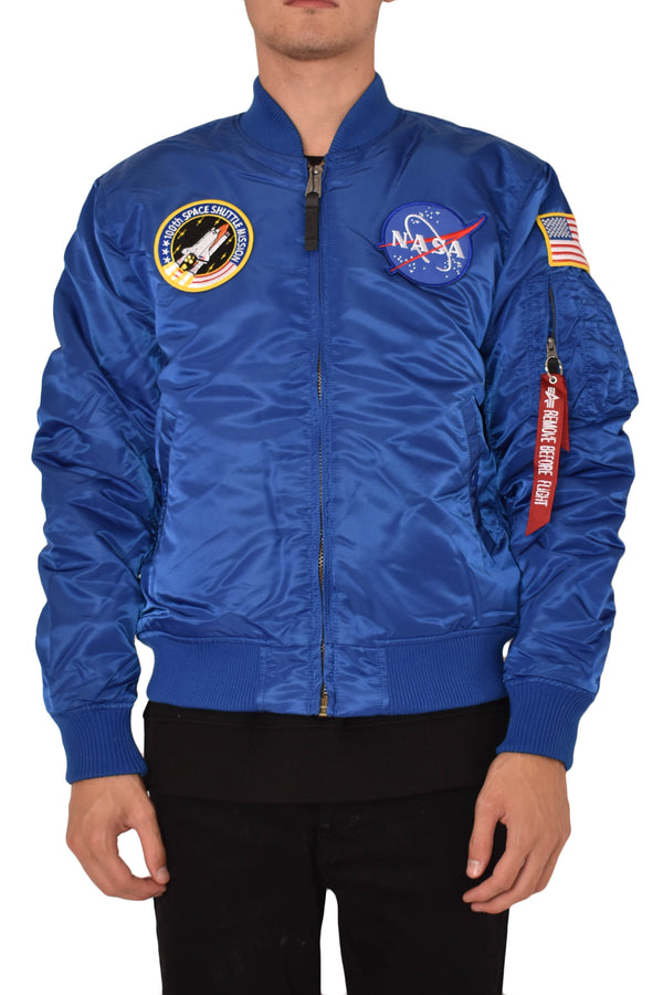ALPHA INDUSTRIES BOMBER MA-1 VF NASA
