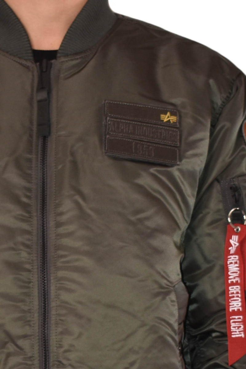 ALPHA INDUSTRIES BOMBER MA-1 AIR FORCE