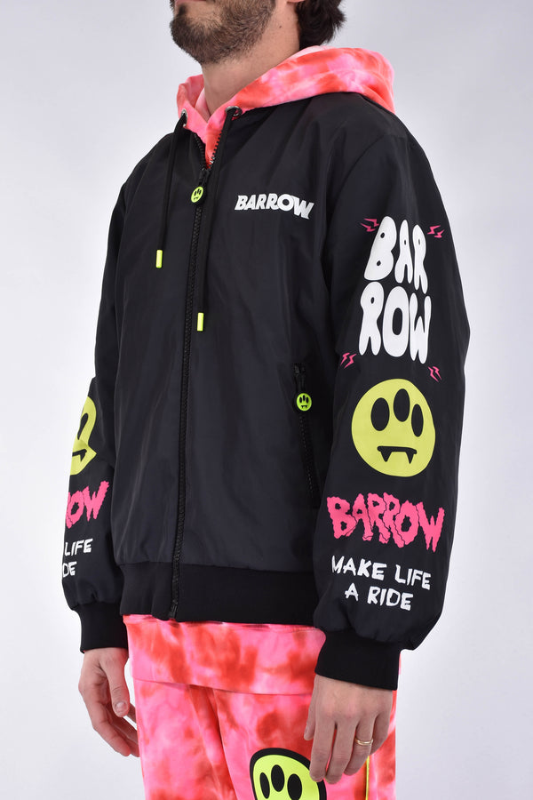 BARROW Giubbino con stampa in nylon