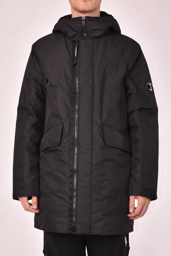 C.P. COMPANY PARKA MICRO-M DOWN PADDED LENS
