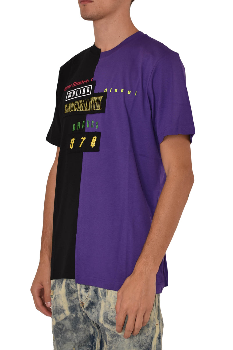 DIESEL T-SHIRT JUBBLE CON STAMPA