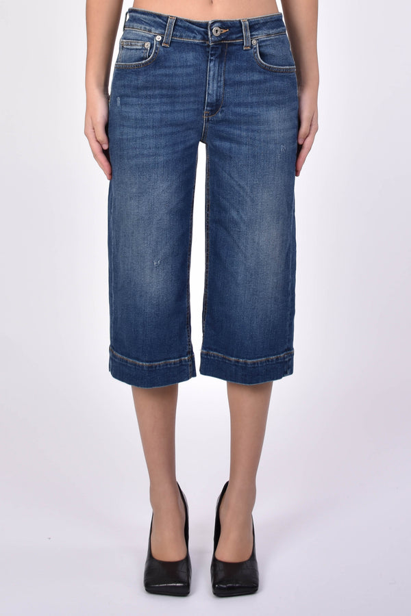DONDUP JEANS CROPPED MODELLO JADE