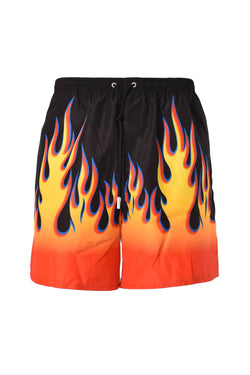 DSQUARED2 COSTUME BOXER RETRO FLAME CON LOGO