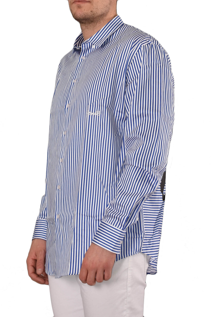FRANKIE MORELLO CAMICIA NAUTICAL RIGATA