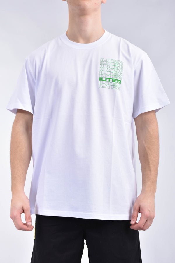 IUTER T-shirt spine in cotone
