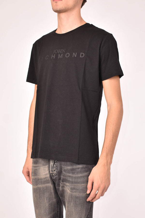 JOHN RICHMOND T-SHIRT ESCORIAL GIROCOLLO