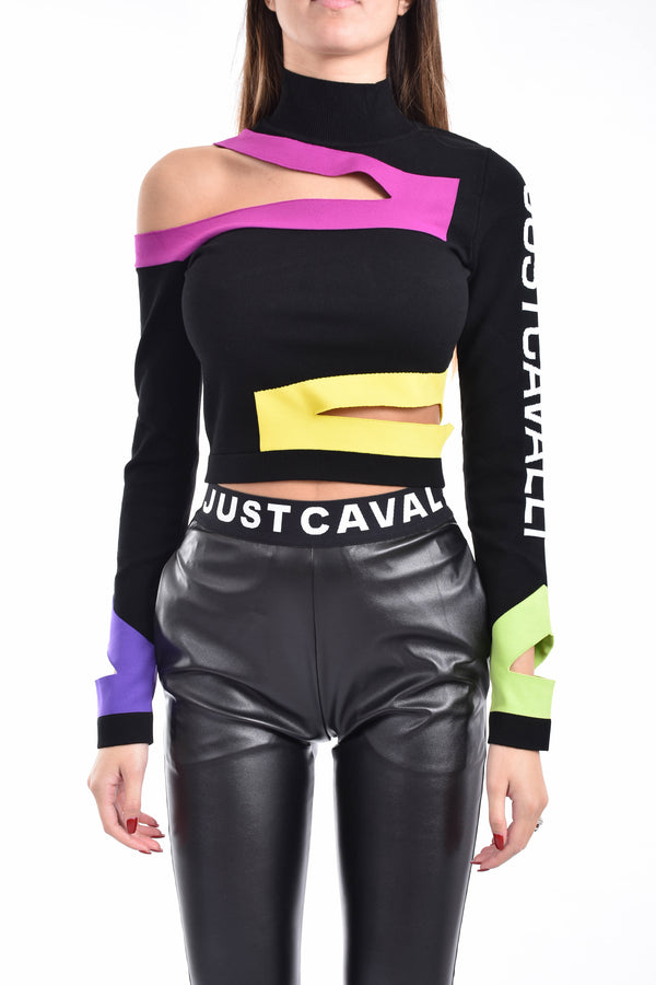 JUST CAVALLI CROP TOP
