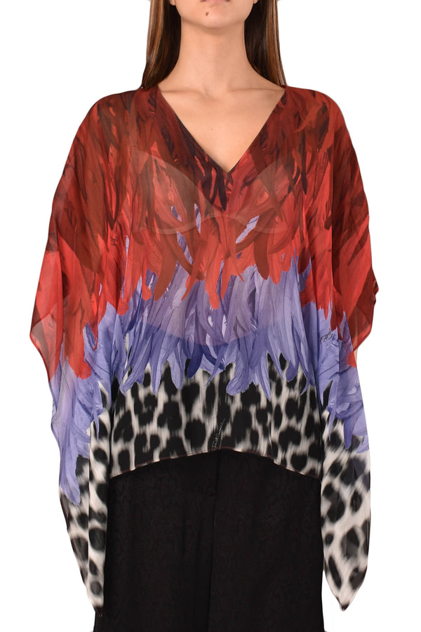 JUST CAVALLI BLUSA A FANTASIA