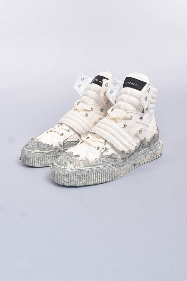 GIENCHI METAL Sneakers hypnos cement in canvas