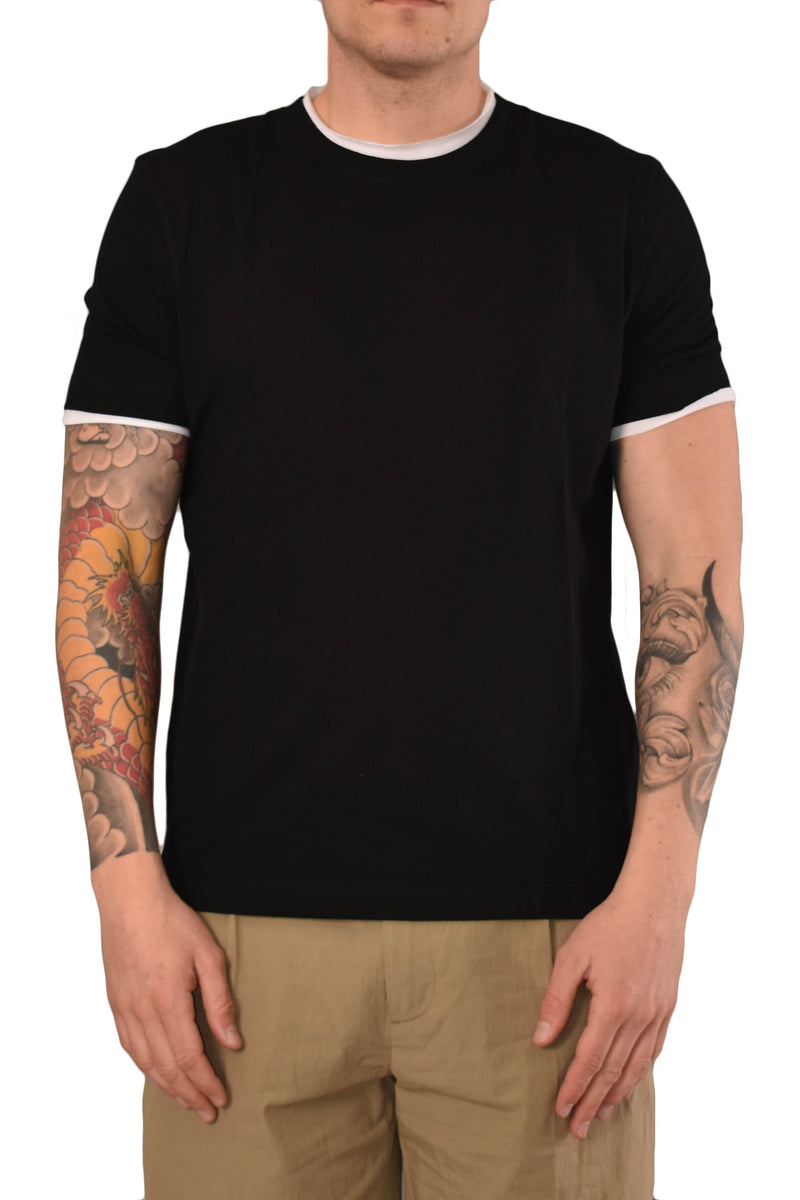PAOLO PECORA T-SHIRT IN COTONE