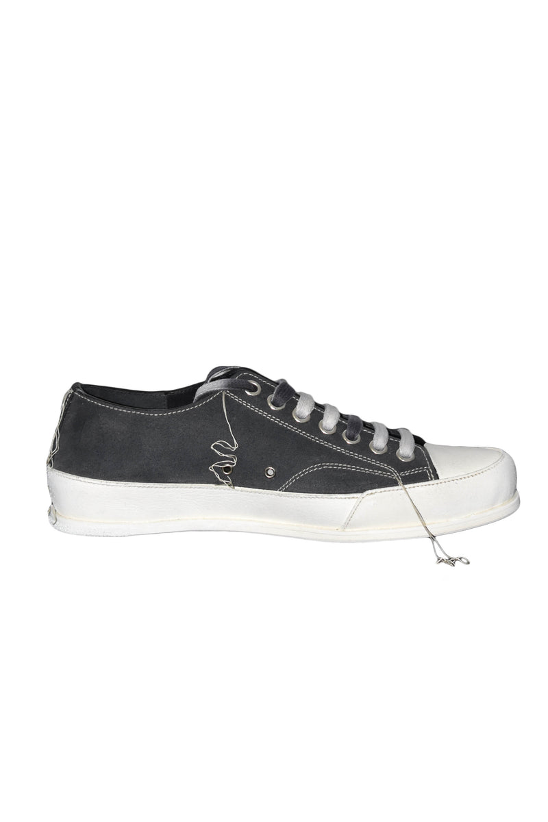 PREMIATA PLUS SNEAKERS IN PELLE SCAMOSCIATA