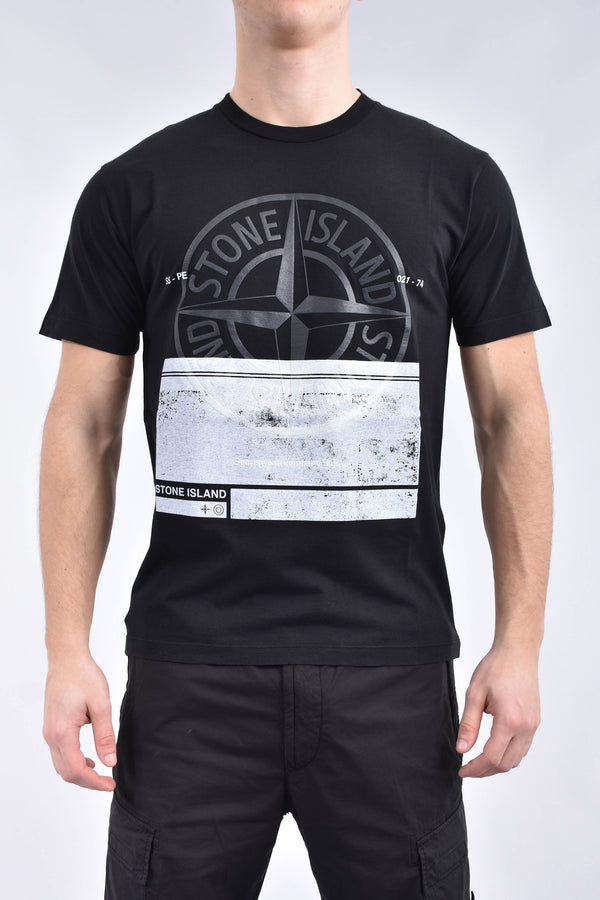 STONE ISLAND T-shirt block one