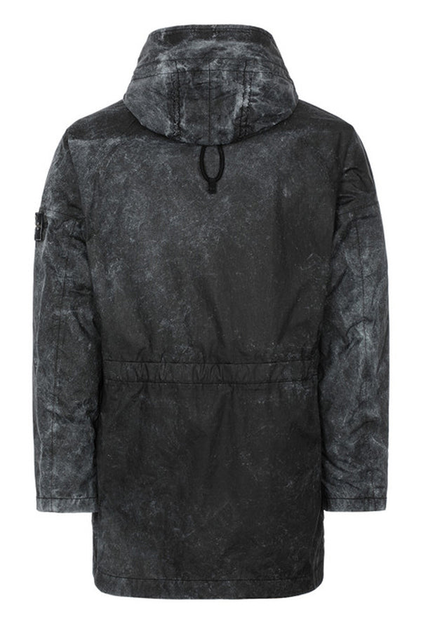 STONE ISLAND PARKA MEMBRANA 3L WITH DUST COLOUR FINISH