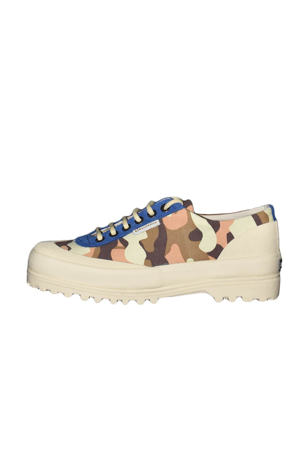 SUPERGA X PAURA SNEAKERS CAMOUFLAGE BASSE IN CANVAS
