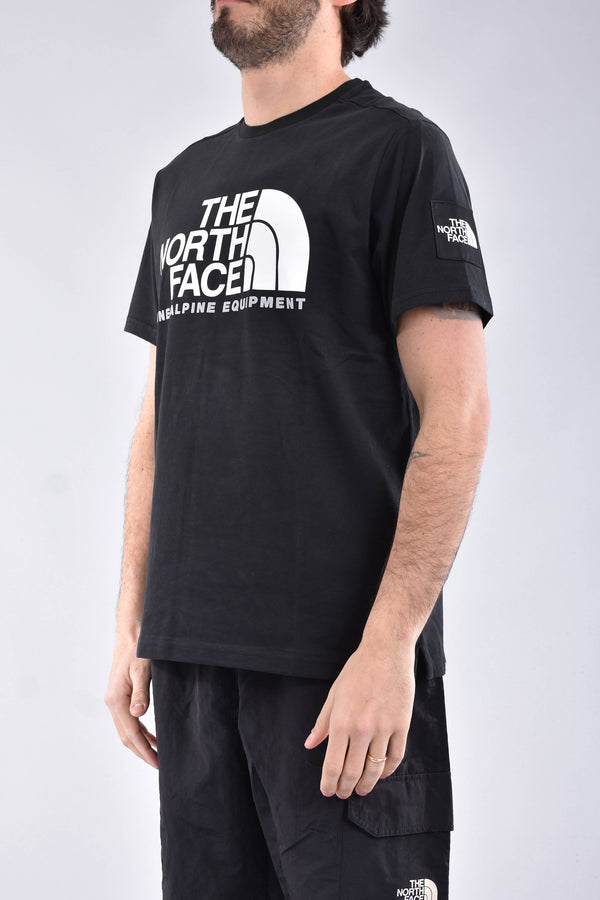 THE NORTH FACE T-shirt fine alpine 2 in cotone