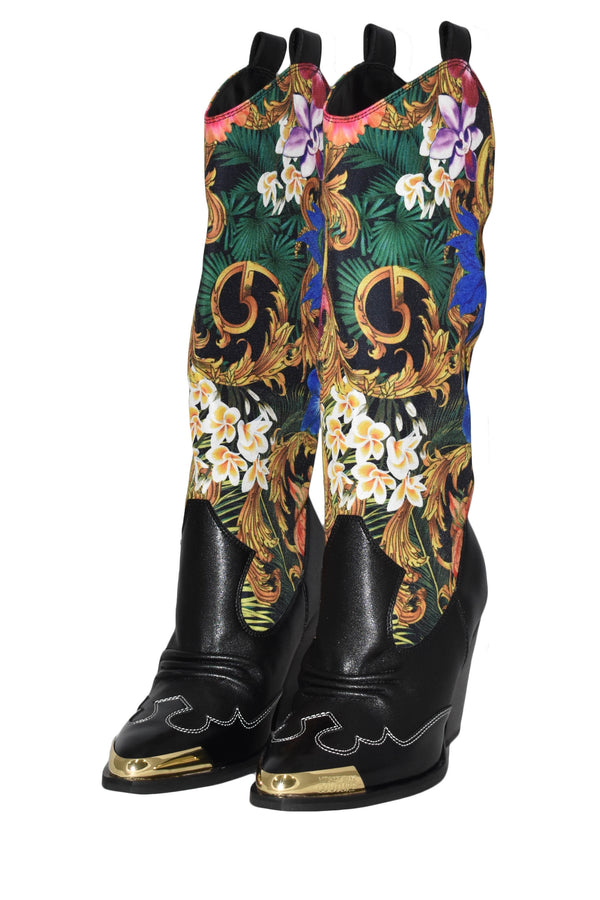 VERSACE JEANS COUTURE STIVALE CAMPEROS