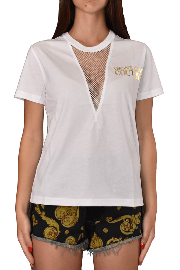 VERSACE JEANS COUTURE T-SHIRT GIROCOLLO