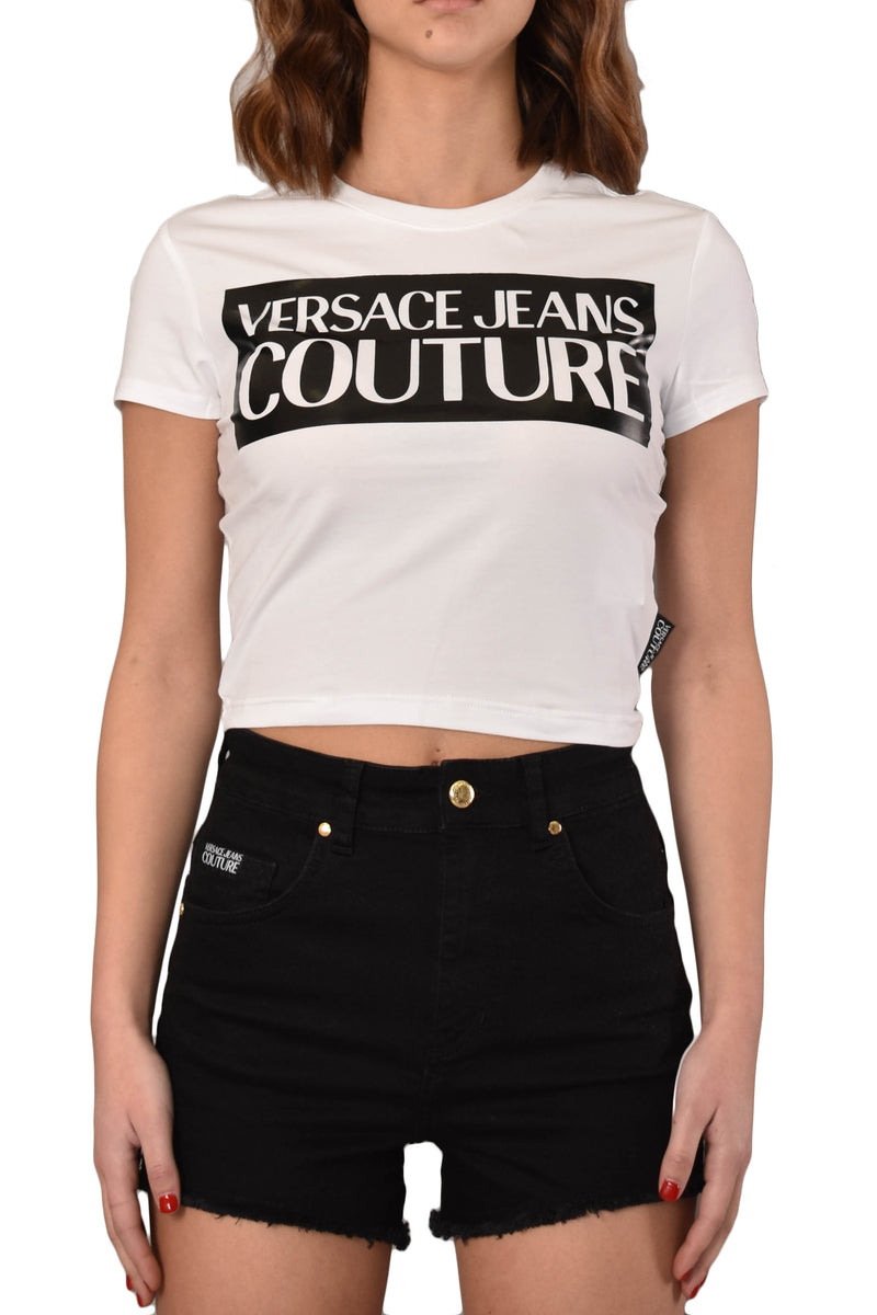VERSACE JEANS COUTURE T SHIRT CON LOGO – Trafficmultilab