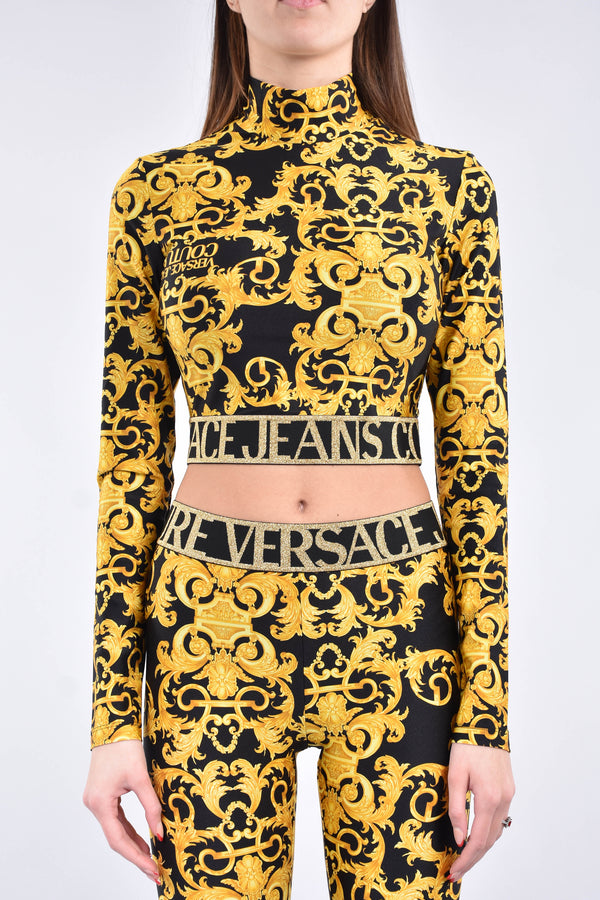 VERSACE JEANS COUTURE crop top