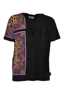 VERSACE JEANS COUTURE T-SHIRT CON STAMPA