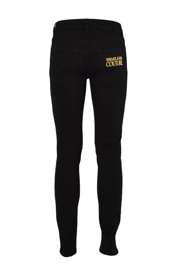 VERSACE JEANS COUTURE JEANS SKINNY CON RICAMO