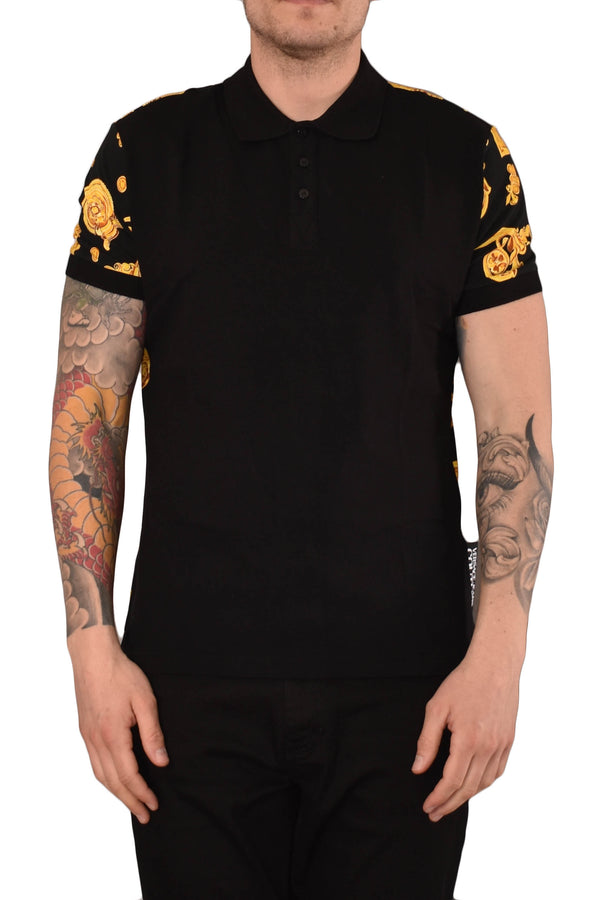 VERSACE JEANS COUTURE POLO STAMPA GIOIELLI