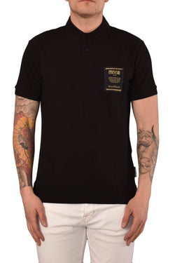 VERSACE JEANS COUTURE POLO CON PATCH