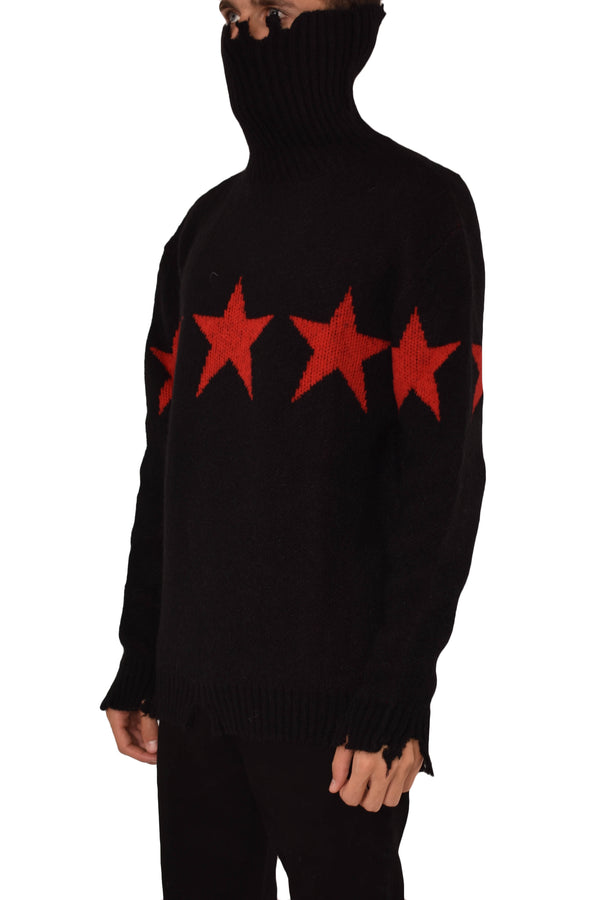 VISION OF SUPER MAGLIA COLLO ALTO RED STAR