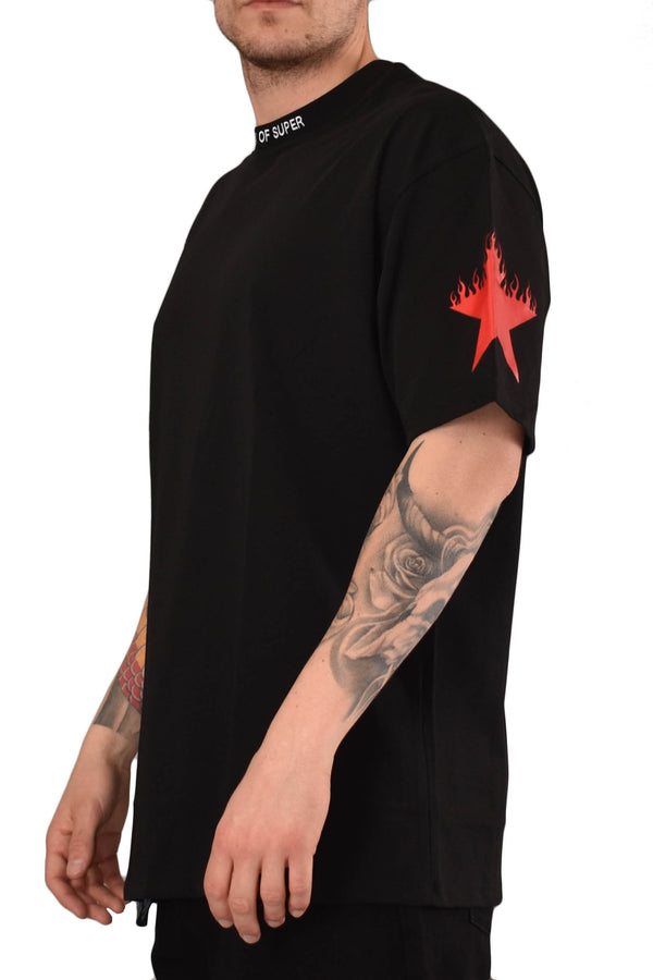VISION OF SUPER T-SHIRT RED STAR