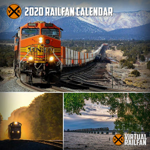 2020 Virtual Railfan Calendar