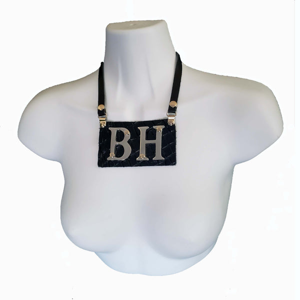 Necklace - Bespoke style #2 - BENY HART - Wearable Art - handmade Luxury Leather Fashion & Accessories